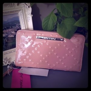 Betsey Johnson Patent Leather Clutch Wallet NWT
